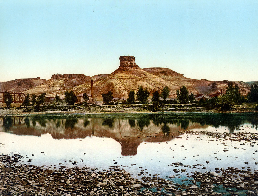Photochrome #53204-Green River Butte